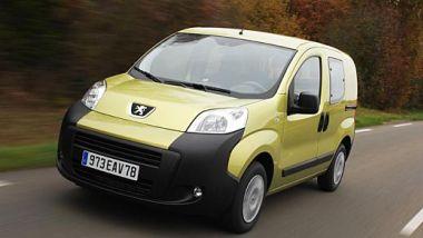 Listino prezzi Peugeot Bipper