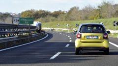 300 Miglia smart: la prima tappa ci ha portati in autostrada, direzione Firenze