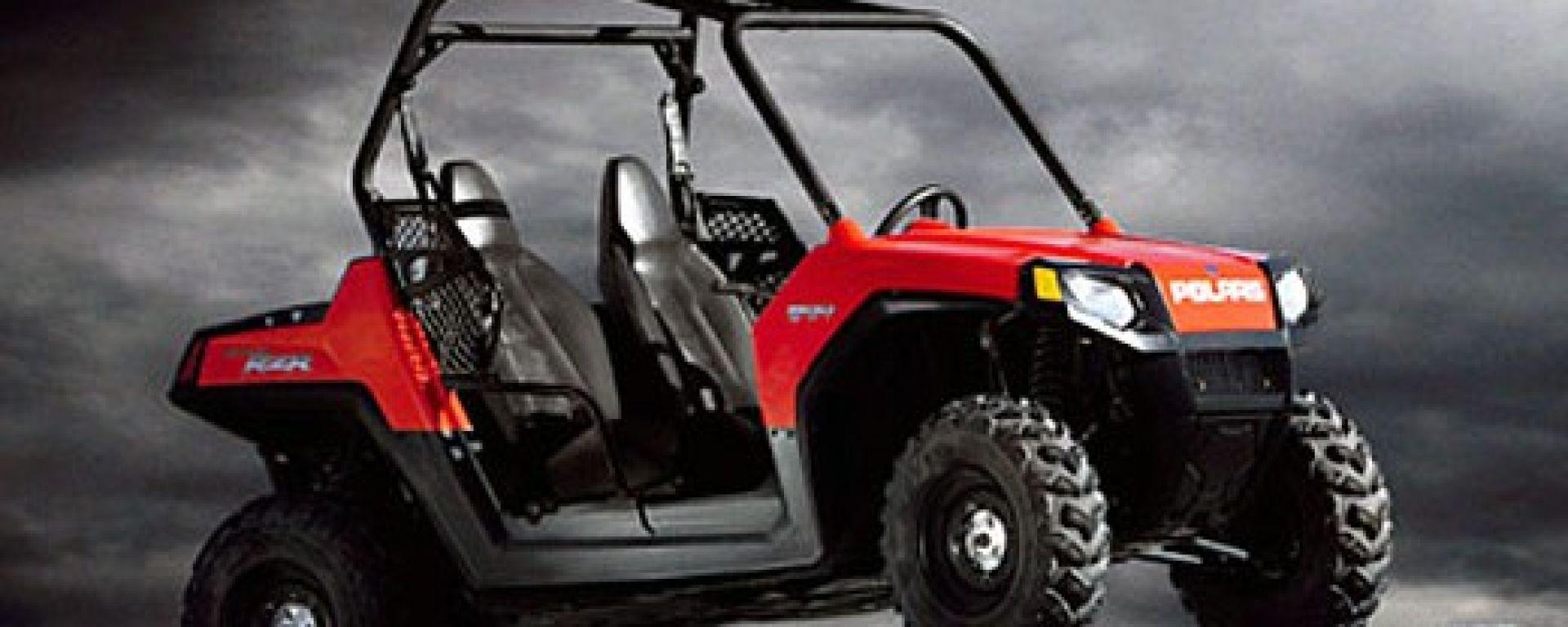 POLARIS RZR, il quad con volante e sedili