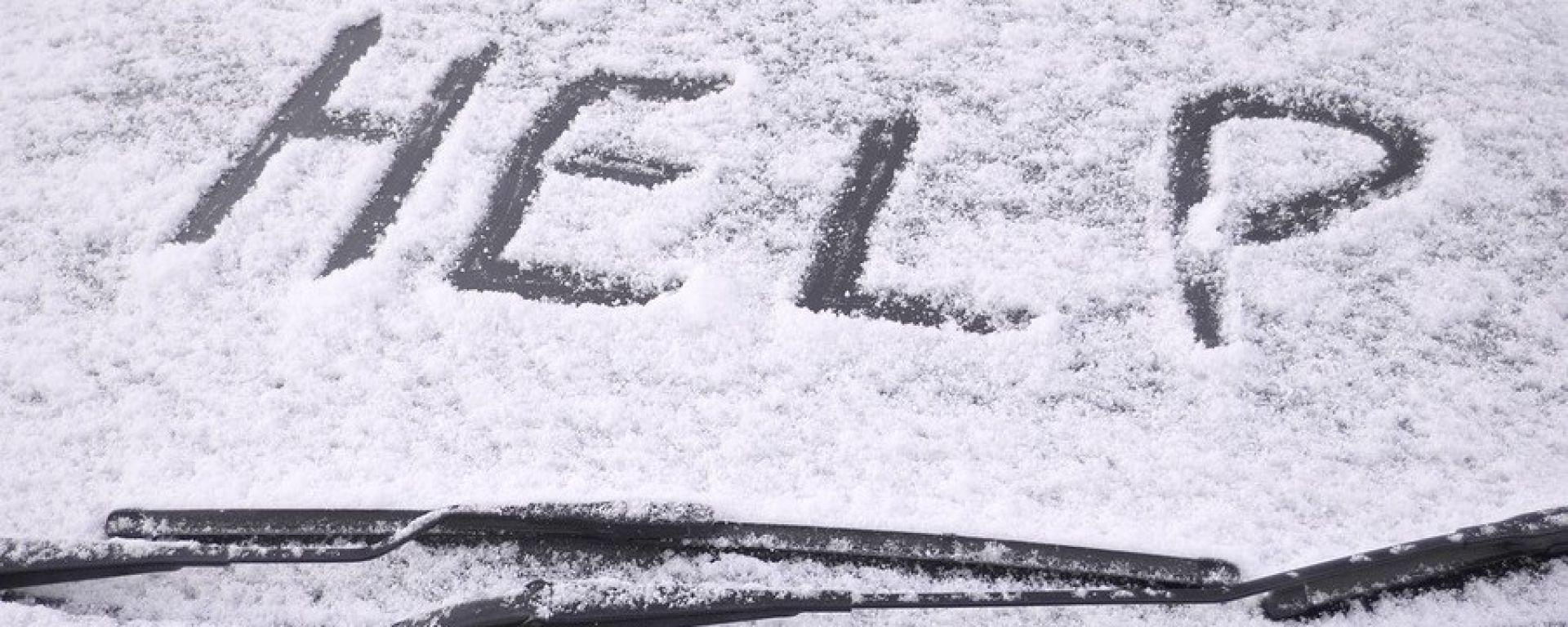 Neve e ghiaccio? Regola numero uno: niente panico