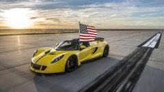 Il record della Hennessey Venom GT Spyder
