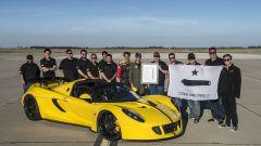 427 km/h: la Hennessey Venom Spyder batte il record della Bugatti Veyron - Immagine: 4