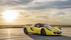 427 km/h: la Hennessey Venom Spyder batte il record della Bugatti Veyron - Immagine: 6