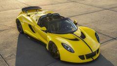 427 km/h: la Hennessey Venom Spyder batte il record della Bugatti Veyron - Immagine: 8