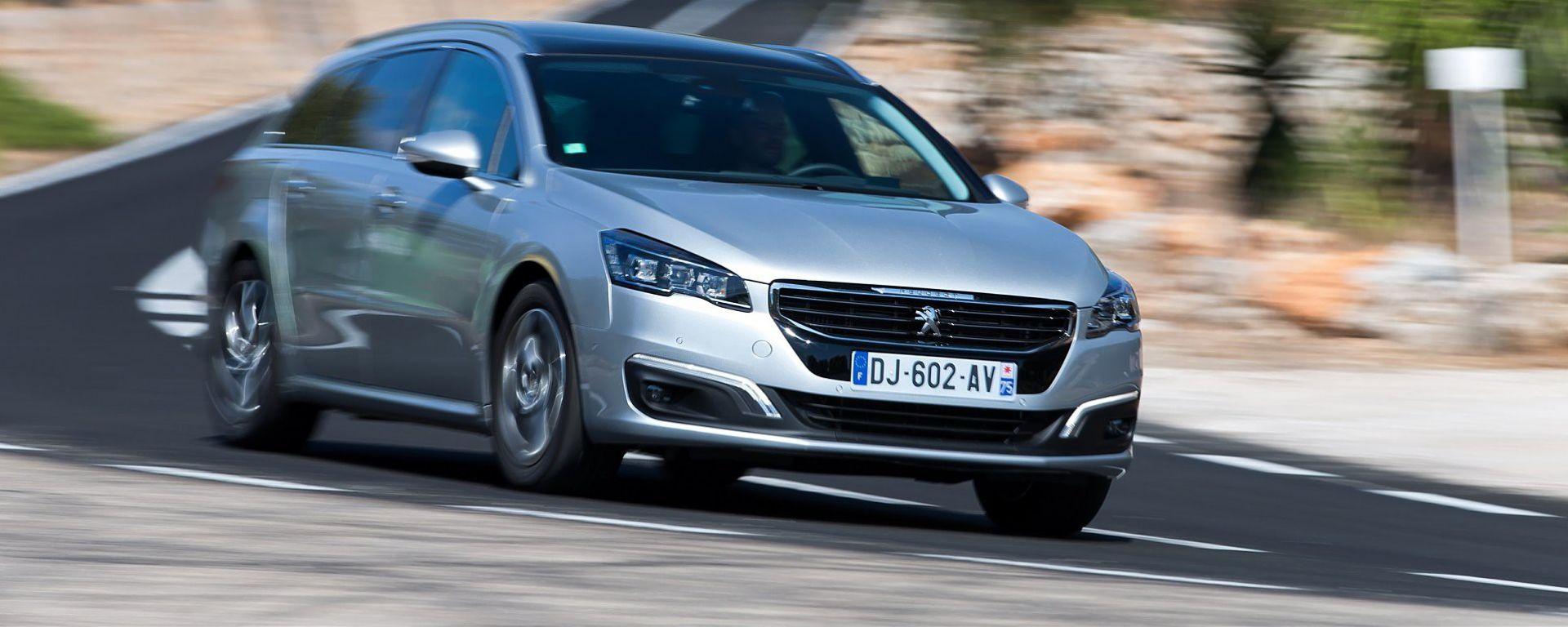 5 domande su... Peugeot 508 SW 2015