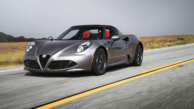 Listino prezzi Alfa Romeo 4C Spider
