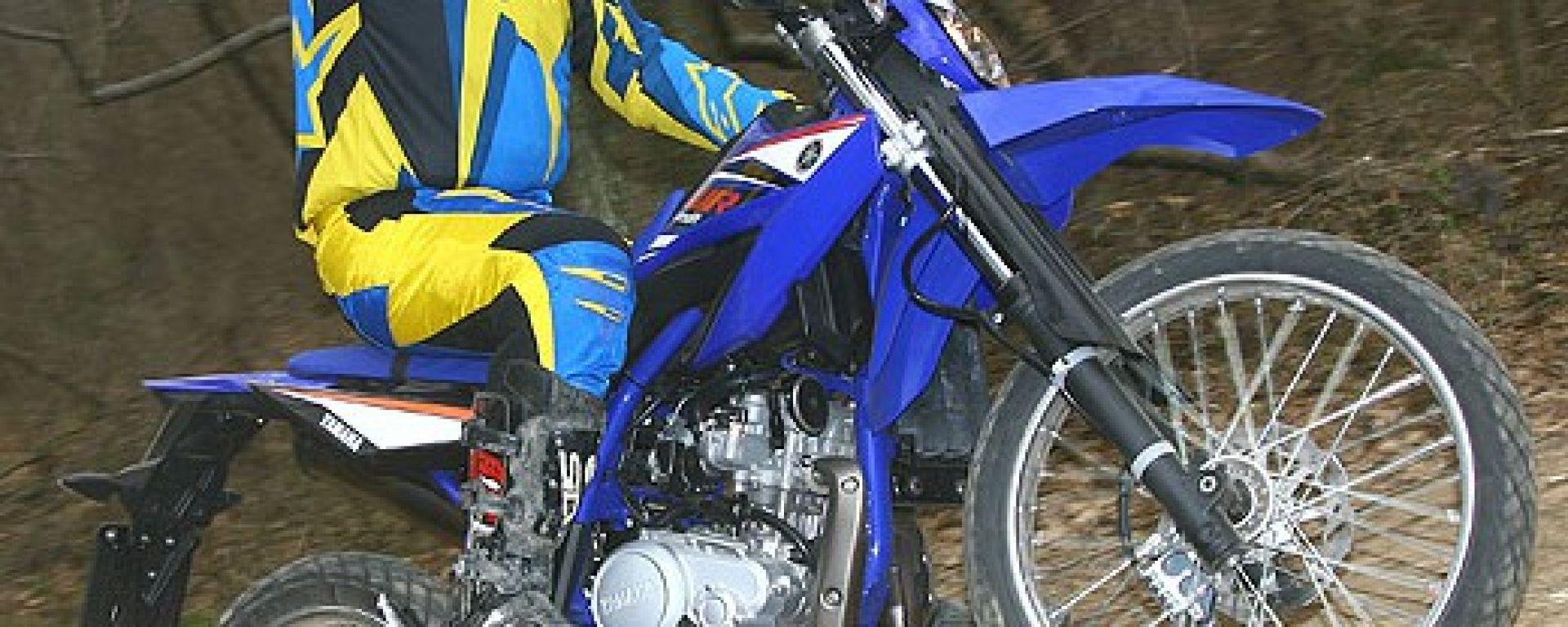 Yamaha WR125 R e X