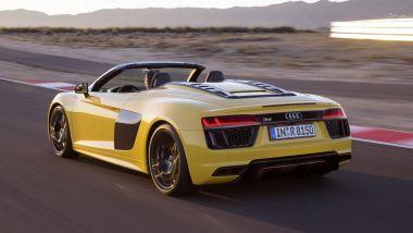 Listino prezzi Audi R8 Spyder