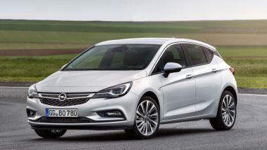 Listino prezzi Opel Astra