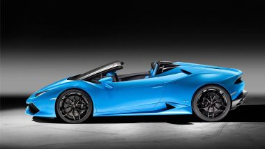 Listino prezzi Lamborghini Huracán Spyder