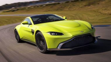 Listino prezzi Aston Martin Vantage Coupé