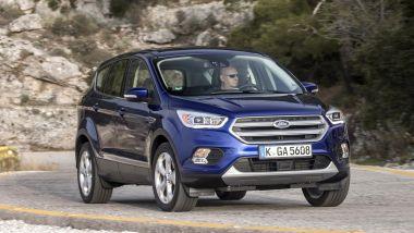 Listino prezzi Ford Kuga