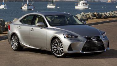 Listino prezzi Lexus IS