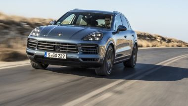Listino prezzi Porsche Cayenne