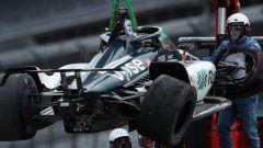 Video: incidente Alonso prove libere Indianapolis