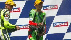 6° Jorge Lorenzo – GP Rio 2003 125 a 16 anni e 139 giorni - Sul podio con Casey Stoner