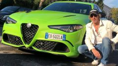 6 Underground: il regista Michael Bay con la Alfa Romeo Giulia Quadrifoglio