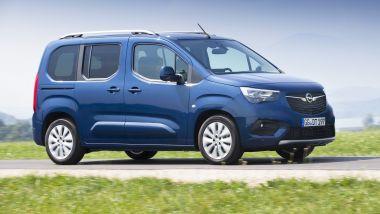 Listino prezzi Opel Combo Life