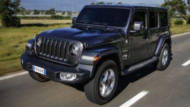 Listino prezzi Jeep Wrangler Unlimited