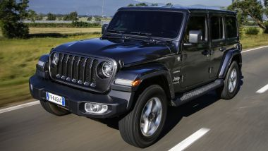 Listino prezzi Jeep Wrangler 4p