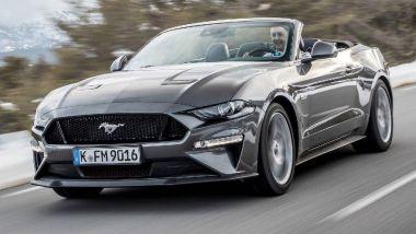 Listino prezzi Ford Mustang Convertible