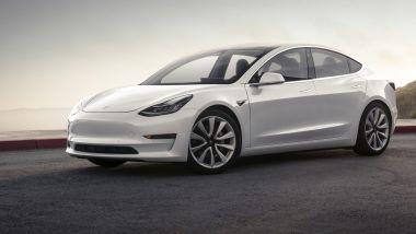 Listino prezzi Tesla Model 3