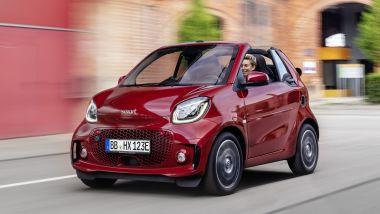 Listino prezzi Smart EQ fortwo Cabrio