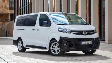 Listino prezzi Opel Vivaro Life