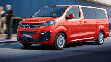 Listino prezzi Opel Zafira-e