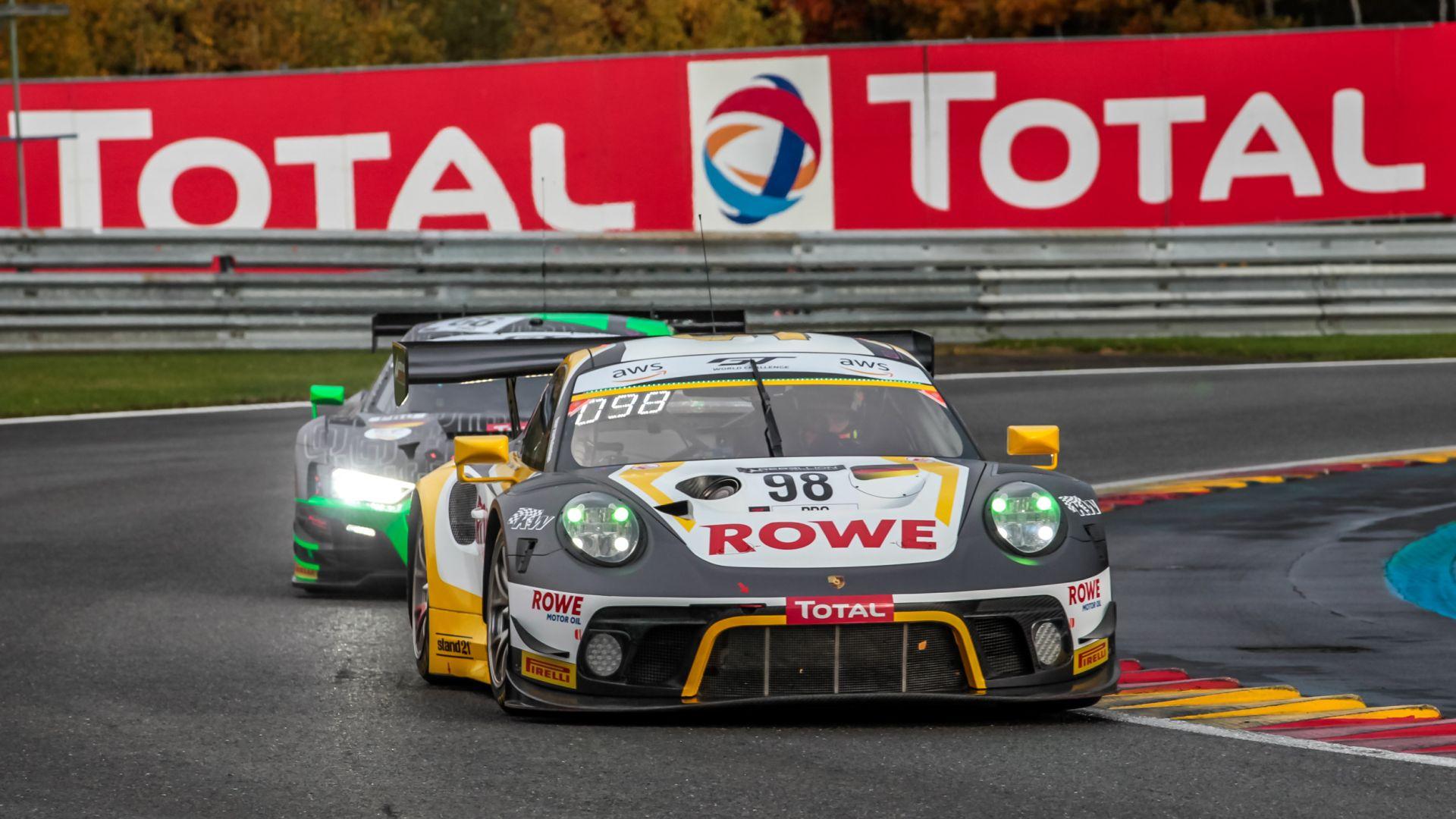 24h Spa: Porsche bissa il successo con Rowe Racing