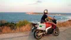 Come guidare la moto a pieno carico in vacanza
