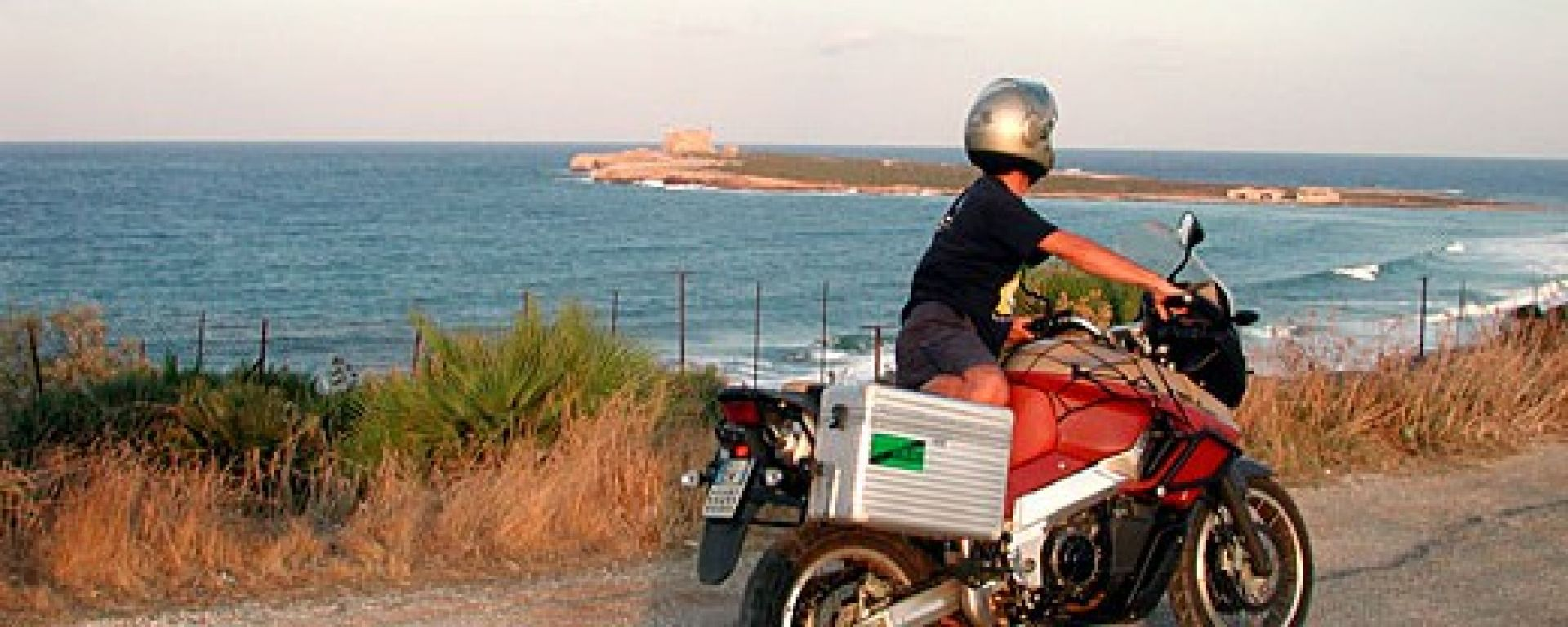 Come guidare la moto a pieno carico