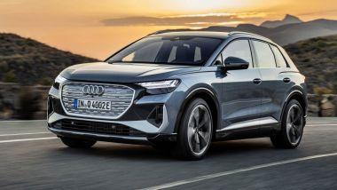 Listino prezzi Audi Q4 e-tron