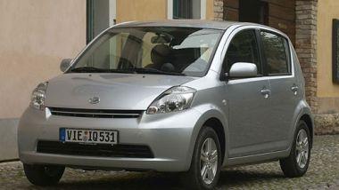 Listino prezzi Daihatsu Sirion