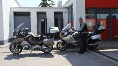 8 Stati per 8 cilindri: test per BMW K 1600 GTL e R 1200 RT - Immagine: 80