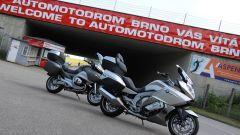 8 Stati per 8 cilindri: test per BMW K 1600 GTL e R 1200 RT - Immagine: 60