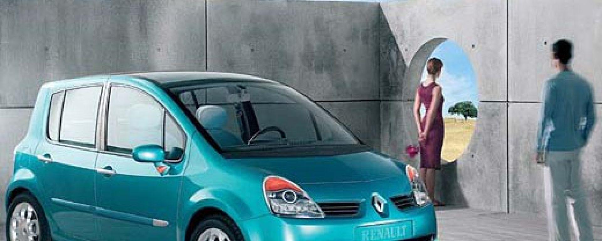 Crash test: Renault Modus