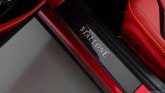 812 Stallone: dettaglio del battitacco