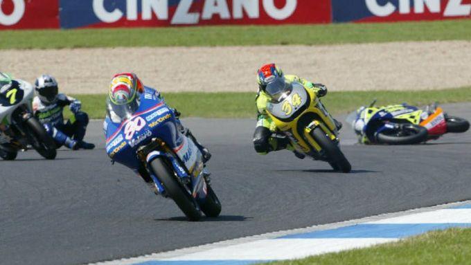 9° Hector Barbera – GP Gran Bretagna 2003 125 a 16 anni e 253 giorni - In gara davanti ad Andrea Dovizioso