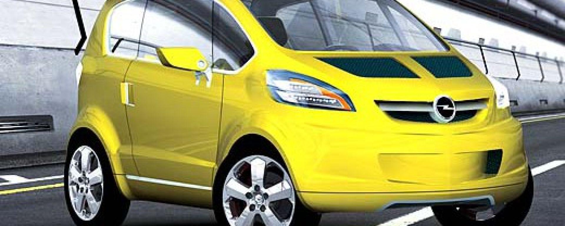 Opel Trixx: l'anti Smart