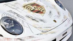 911 e Porsche Haus: dettaglio frontale