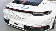 911 e Porsche Haus: dettaglio posteriore