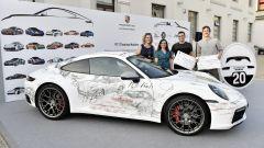 911 e Porsche Haus: l'auto del progetto NABA