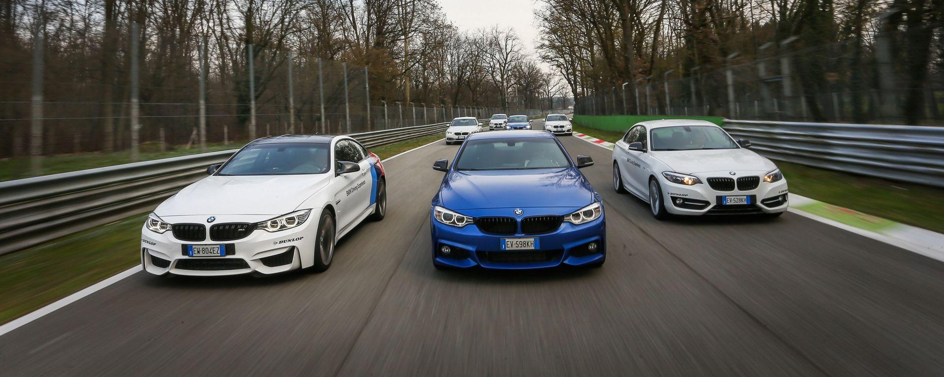 BMW Driving Experience: dai banchi alla pista