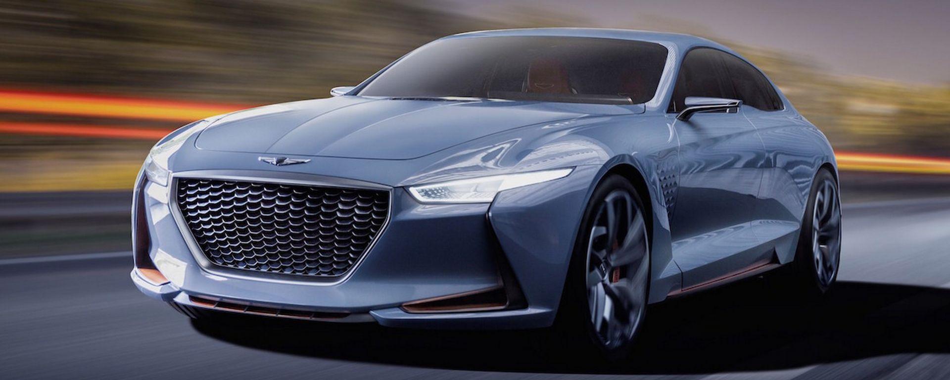 Genesis New York Concept: lusso sportivo alla coreana