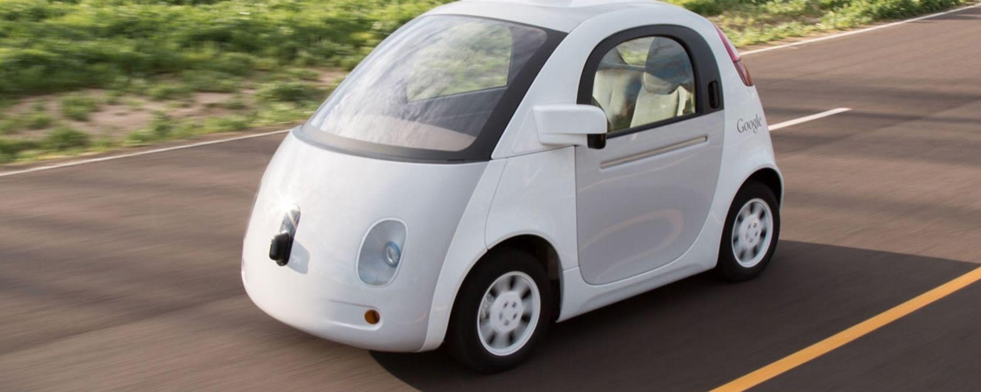 La Google Car causa il suo primo incidente