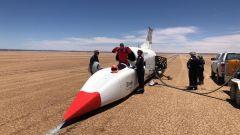 A 1000km/h dentro Bloodhound LSR, il video