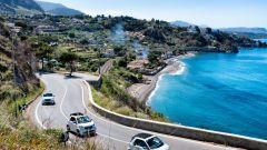 A bordo della Smart orTwo Cabrio, abbiamo visto paesaggi straordinari