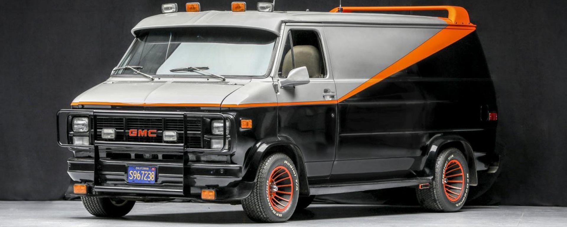 A-Team, il mitico furgone in vendita all'asta