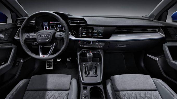 A3 Sportback 2020, gli interni
